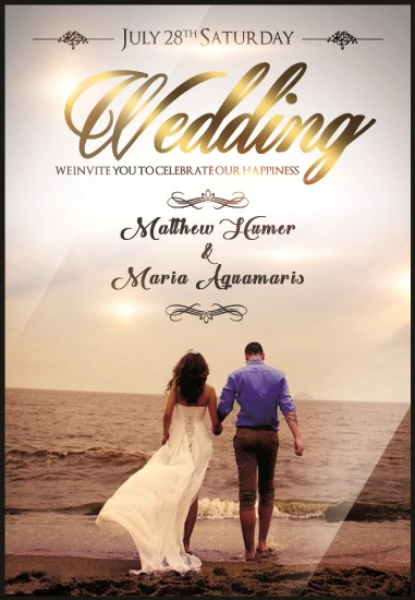 Buy Wedding Cards Online Design And Print A Wedding E Card Couple - Make your own save the date cards templates