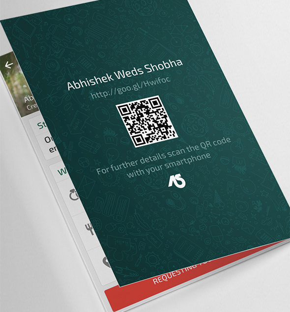 whatsapp themed wedding invitation card  u2013 seemymarriage