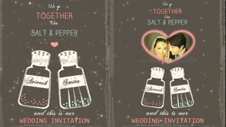 Animated cards seemymarriage evelyn salt and pepper potts universal couple best animated wedding save the date invitation video stopboris Choice Image