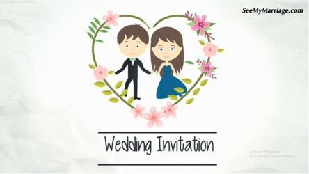Royal Wedding Invitation Template SeeMyMarriage