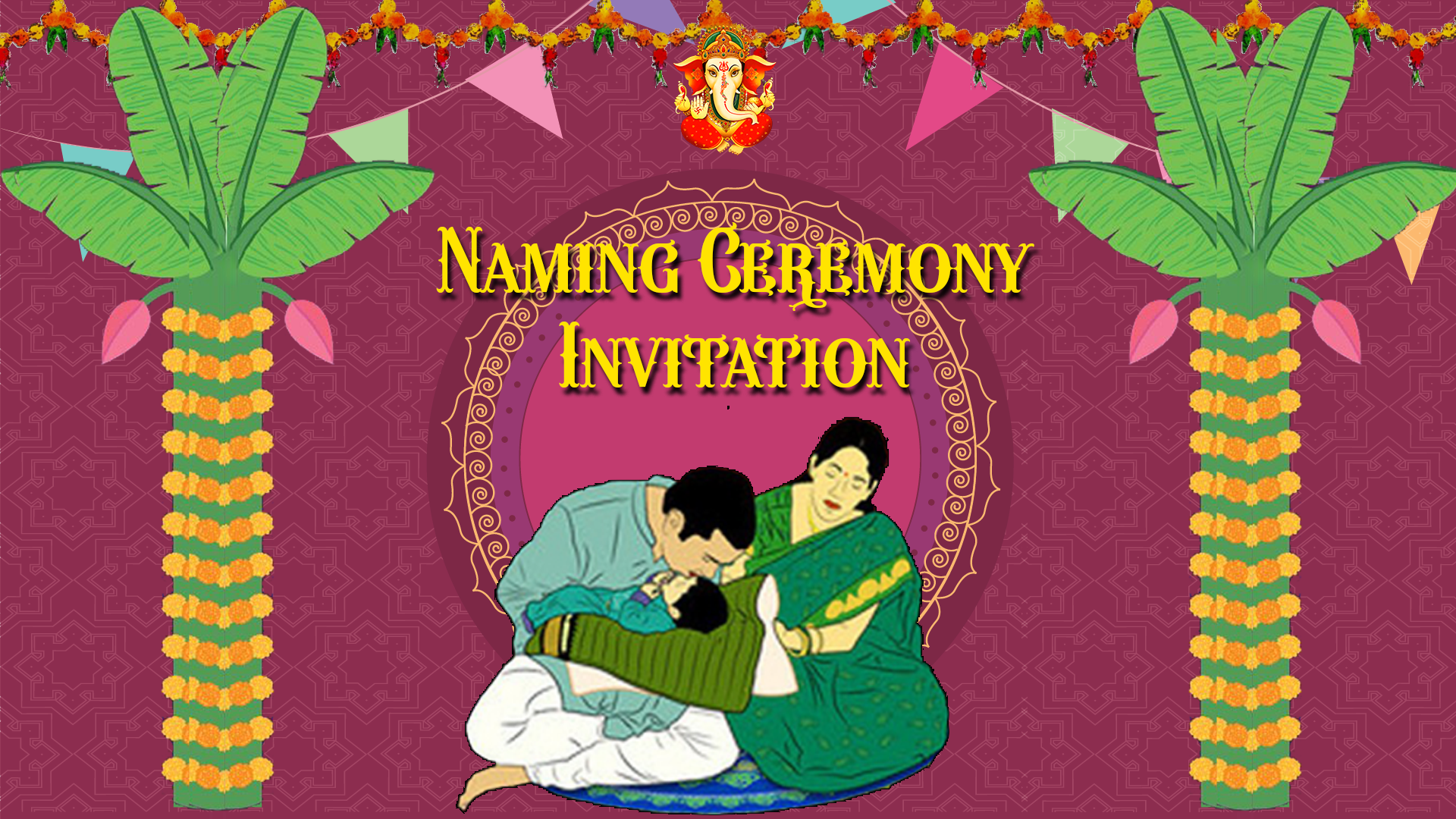 Lord Ganesha Traditional Wedding Invitations – SeeMyMarriage