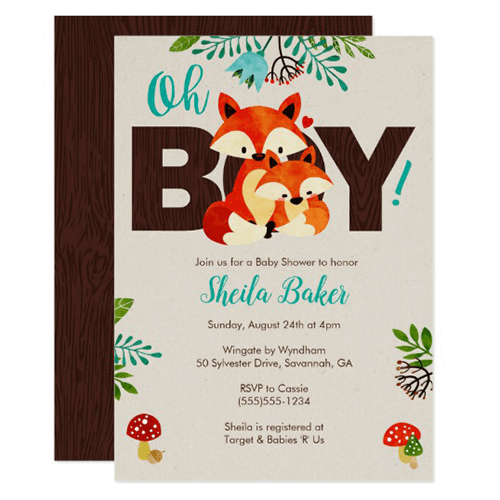 Create Baby Shower Paperless Invitations Custom Baby Shower