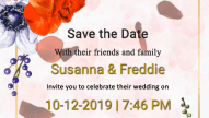 Free Online Invitation and Save the Date Video Maker cum