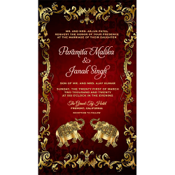 Printable And Customizable Party Invitation Card Templates
