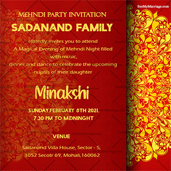 Online Wedding Card Maker Design And Print A Wedding E Card Couple Personal Cards Whatsapp Cards Online Seemymarriage