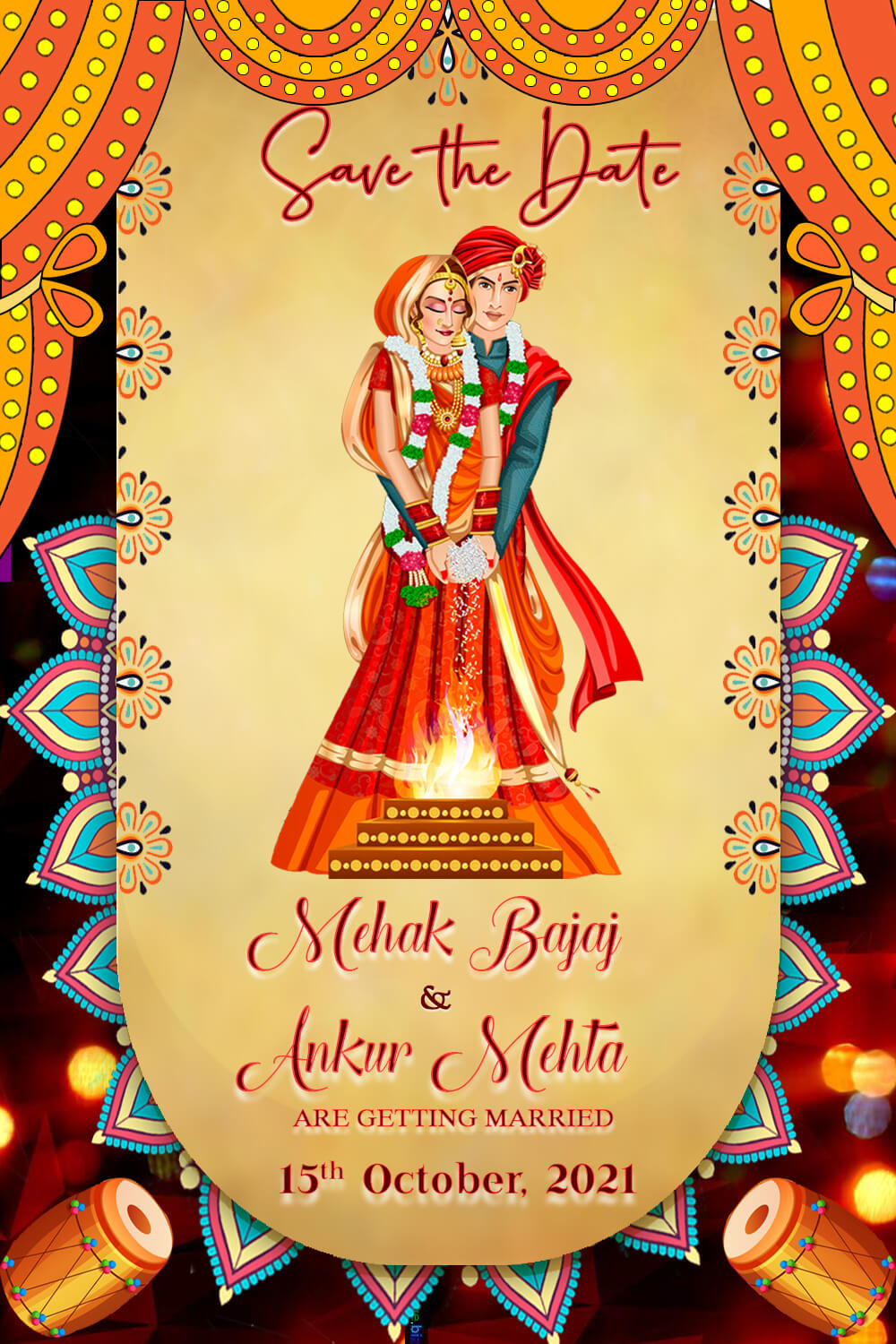 Rajasthani Invitation Videos, Traditional Wedding Cards and